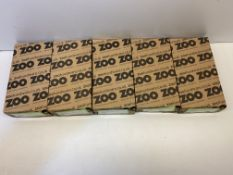 5 x Boxes Of Zoo Hardware Flush Bolts | ZAS03SS | Total RRP £499