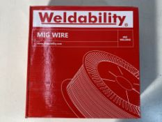 2 x Weldability Mig Wire | VZ181015LW | 1.0mm | Total RRP £80