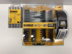 Dewalt Screwdriver Set & Drill Bit Set
