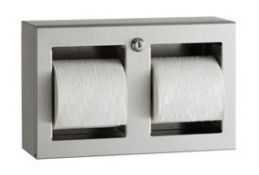 Bobrick Trimline Toilet Tissue Dispenser | B-3588 | RRP £216