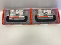 2 x Fischer FIXtainer Multi-Box C/W 210 Wall Plugs   534090   RRP £27.98