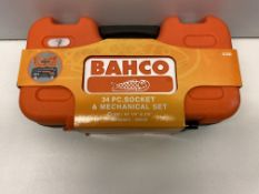 Bahco S330 34 Piece Socket & Mechanical Set   RRP £32.99