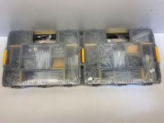 2 x Dewalt DFMJOMIX-GB Mixed Anchors Kit