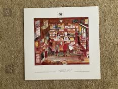 Francis Lennon Signed Artists Print | Open All Hours
