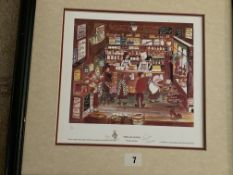 Francis Lennon Signed Artists Print Open All Hours | 1/850