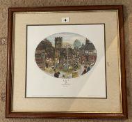 Francis Lennon Signed Artists Print The Maypole Dance | 1/850
