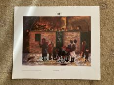 Francis Lennon Signed Artists Print   Penny For The Guy
