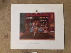 Francis Lennon Signed Artists Print   The Fortune Teller