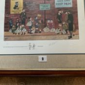 Francis Lennon Signed Artists Print The Evacuees | 1/400