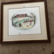 Francis Lennon Signed Artists Print Picnic in the Park   1/400