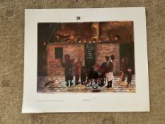 Francis Lennon Signed Artists Print | Penny For The Guy