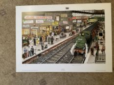 Lewis C Bennett Signed Artist Print | Away Day