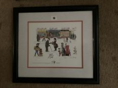 Francis Lennon Signed Artists Print Christmas Eve | 1/200