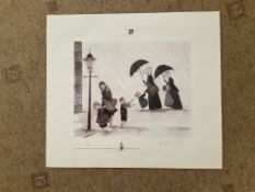 Francis Lennon Signed Artists Print | Little Sisters of the Poor