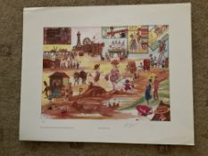 Francis Lennon Signed Artists Print | (Blackpool) Thats The Way to Do It