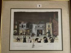 Francis Lennon Signed Artists Print The Picturedrome   1/400