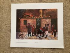 Francis Lennon Signed Artists Print | Penny For The Guy | 1/400