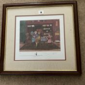 Francis Lennon Signed Artists Print The Fortune Teller | 1/400