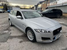 Jaguar XF Prestige D Auto Diesel Estate in Silver | 19 Plate | 38,107 Miles