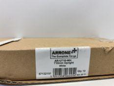 2 x Boxes Arrone Double Slot Shelving | 10 pcs each box