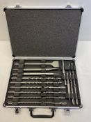 Metabo Drill and Chisel Set in Carry Case | 628414000 | RRP £29.95
