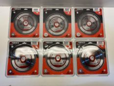 6 x Abracs Circular Saw Blade | Total RRP £42.12