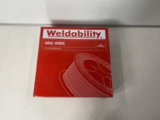2 x WELDABILITY Mig Wire | VZ181015LW | 1.0MM | Total RRP £53.98