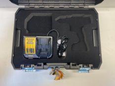 DeWALT DCK215D2T 10.8-Volt Drill 088 Laser Combo Kit T-STAK Carry Case & Dewalt DCB115 Battery Charg