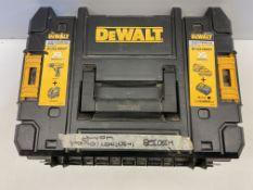 DeWALT Carry Case for DCK215D2T 10.8-Volt Drill 088 Laser Combo Kit T-STAK & Dewalt DCB115 Battery C