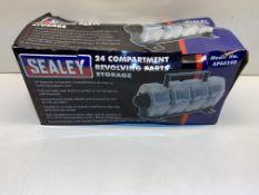 Sealey Revolving Parts Storage Unit | APAS24R | RRP £32.45