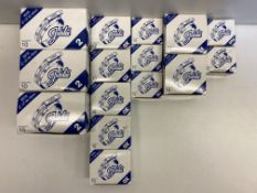 14 x Boxes Of Various Sized Jubilee Hose Clips
