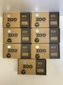 7 x Zoo Hardware Tubular Return to Door Lever | ZCS030SS | Total RRP £52.92