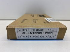 6 x Zoo Hardware Euro Profile Sash Lock | ZUKS76EPSS | Total RRP £59.76