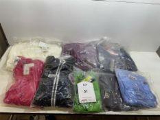 8 x Various Women's Hoodies/Coats/Fleeces as per pictures