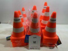 Approximately 60 x Hudor Orange Training Cones