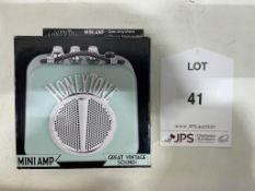 Honeytone Mini Amplifier