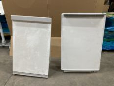 2 x Tripod Whiteboards/Paper Display Stands