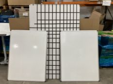 3 x Large Whiteboards As Per Description