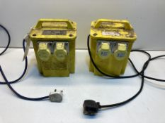 2 x Transformers for 3-Phase Appliances | 240v - 110v