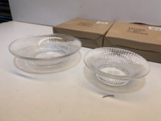 2 x Pairs of Serving Dishes