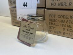 40 x Small Glass Jars w/Screw Top