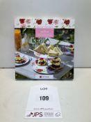 8 x Secret Garden 2 Tier Cake Stand