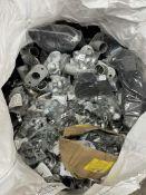 Large Bag of Various Metal Pipe Fittings as per photos