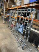 2 x Metal Roof Racks for Renault Vivaro Panel Van
