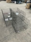 10 x Metal Storage Display Baskets
