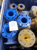12 x All Flanged Tees DI 80mm
