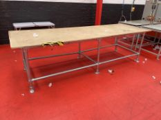 Scaffold Frame Industrial Workbench | 3060mm L X 1020mm W