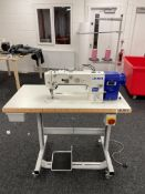 Juki DU-1481-7 1 Needle, Top & Bottom Feed Industrial Sewing Machine | YOM: 2020 | LOCATED IN MANCHE