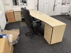 Contents of Office Furniture | As Pictured