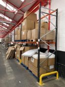 22 Bays of Link 51 Pallet Racking w/ Protection Barriers | CONTENTS NOT INCLUDED